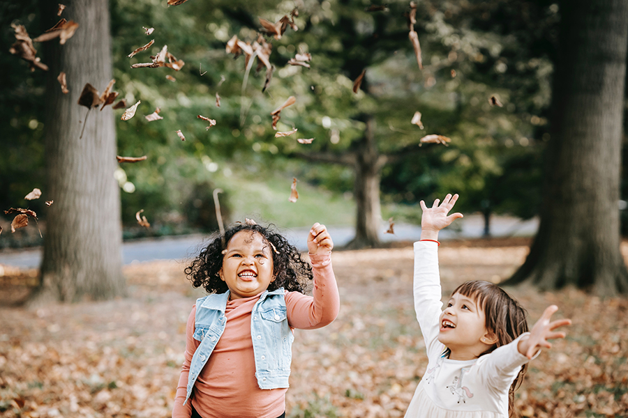 Kite flying and pumpkin picking are some of the best outdoor activities to do with kids in fall.