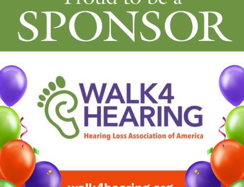 Hearing Loss Association of America Invites Communities to Step up for  Hearing Health
