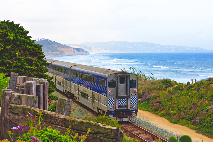 One train travel tip for hearing loss is to know your route.